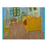 Vincent's bedroom at Arles Post Card