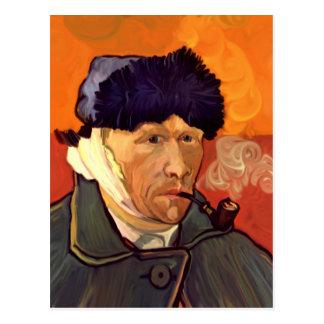 Vincent Self Portrait 1889 Postcard