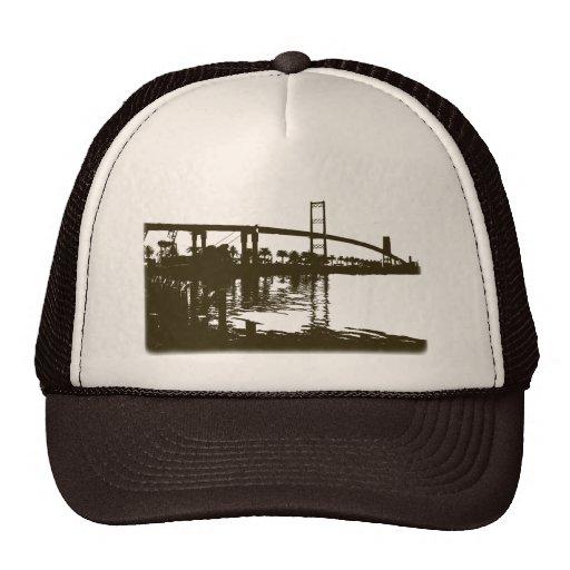 Vincent Thomas Bridge Brown Hat