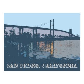 Vincent Thomas Bridge Postcard