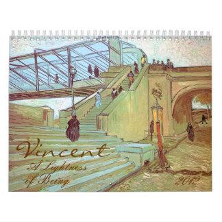 Vincent una ligereza de ser arte 2012 de Van Gogh Calendario De Pared