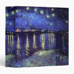 Vincent van Gogh, 梵 高 3 Ring Binders
