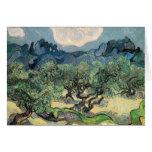 Vincent van Gogh (1853-1890) - los olivos (18 Tarjeta De Felicitación