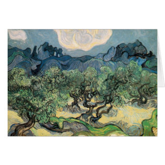 vincent van gogh (1853-1890) - the olive trees (18 card
