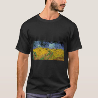 vincent van gogh 1853 1890  wheat field with crows T-Shirt