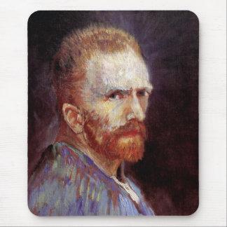 Vincent Van Gogh - 1887 Self Portrait Painting Mouse Pad