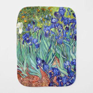 Vincent Van Gogh 1898 Irises Burp Cloth