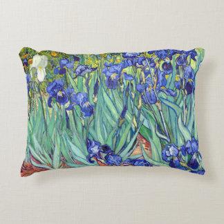 Vincent Van Gogh 1898 Irises Decorative Pillow