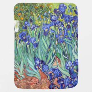 Vincent Van Gogh 1898 Irises Stroller Blanket