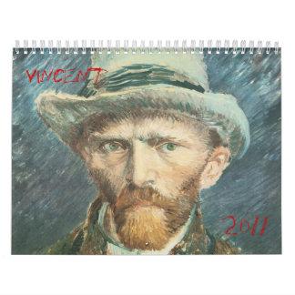 Vincent Van Gogh 2011 Calendar