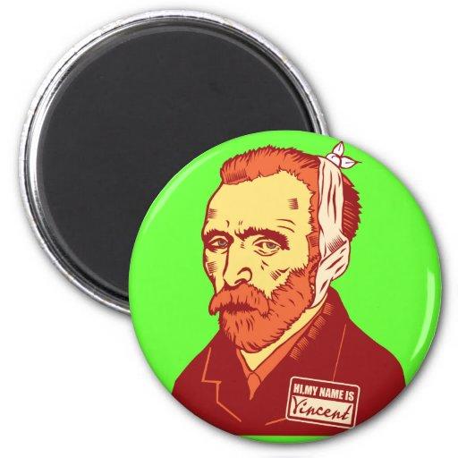 Vincent Van Gogh 2 Inch Round Magnet
