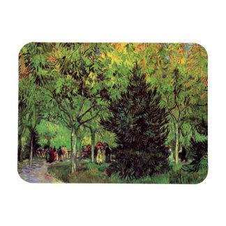 Vincent Van Gogh - A Lane In The Public Garden Magnet