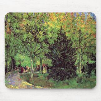 Vincent Van Gogh - A Lane In The Public Garden Mouse Pad