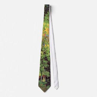 Vincent Van Gogh - A Lane In The Public Garden Neck Tie