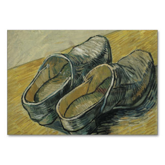 Vincent Van Gogh A Pair Of Leather Clogs Card