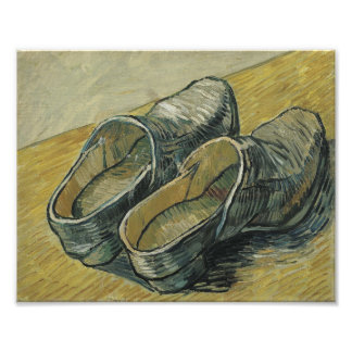 Vincent van Gogh - A pair of leather clogs Photographic Print