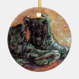 Vincent Van Gogh - A Pair Of Shoes Ceramic Ornament