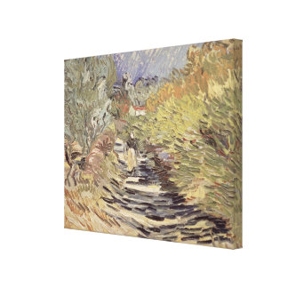 Vincent van Gogh | A Road in St. Remy Canvas Print