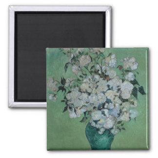 Vincent van Gogh | A Vase of Roses, 1890 Magnet