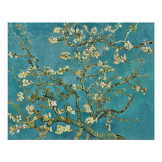 Vincent van Gogh Almond Blossom GalleryHD Poster