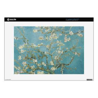 """vincent van gogh, almond blossoms 15"""" laptop skins"""