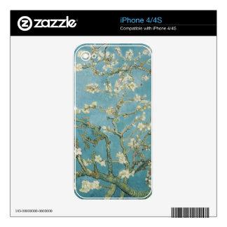 vincent van gogh, almond blossoms iPhone 4S decals