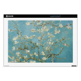 vincent van gogh, almond blossoms laptop skins