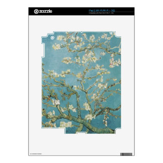 vincent van gogh, almond blossoms decals for the iPad 2