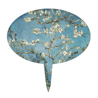 Vincent van Gogh | Almond branches in bloom, 1890 Cake Topper