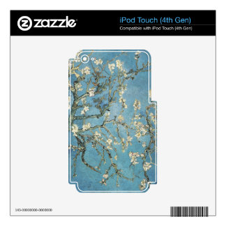Vincent van Gogh   Almond branches in bloom, 1890 iPod Touch 4G Decal