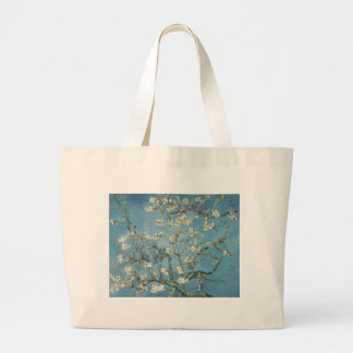 Vincent van Gogh | Almond branches in bloom, 1890 Large Tote Bag