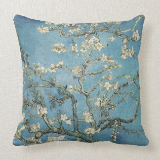 Vincent van Gogh | Almond branches in bloom, 1890 Throw Pillow