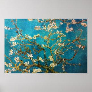 Vincent Van Gogh Almond Tree Art Poster