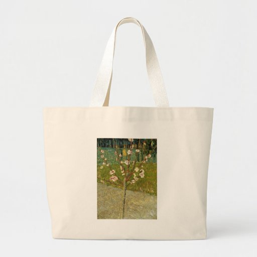 Vincent van Gogh - Almond tree in blossom Jumbo Tote Bag