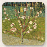 Vincent van Gogh - Almond tree in blossom Drink Coaster