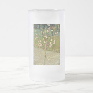 Vincent van Gogh - Almond tree in blossom Glass Beer Mugs