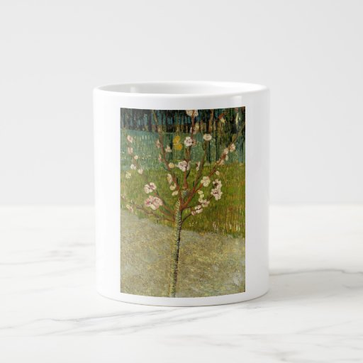 Vincent van Gogh - Almond tree in blossom Extra Large Mugs