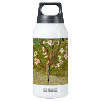 Vincent Van Gogh Almond Tree In Blossom Vintage Insulated Water Bottle