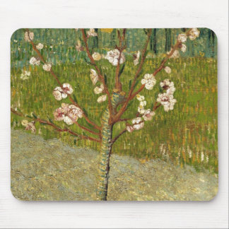 Vincent Van Gogh Almond Tree In Blossom Vintage Mouse Pad