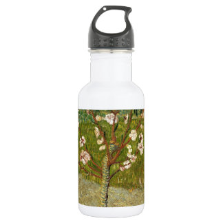 Vincent Van Gogh Almond Tree In Blossom Vintage Water Bottle