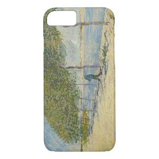 Vincent van Gogh - Along the Seine iPhone 7 Case