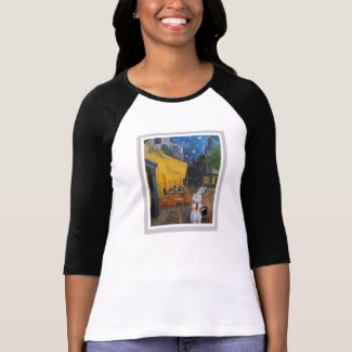 Vincent van Gogh and the White Rabbit Tshirt