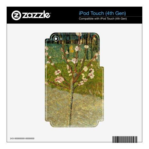 Vincent van Gogh - árbol de almendra en flor iPod Touch 4G Skins
