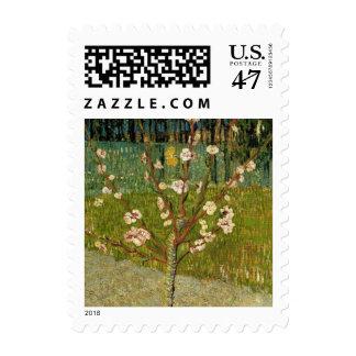 Vincent van Gogh - árbol de almendra en flor Timbres Postales