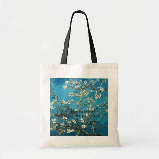 Vincent van Gogh, árbol de almendra floreciente Bolsas