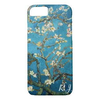 Vincent van Gogh, árbol de almendra floreciente Funda iPhone 7