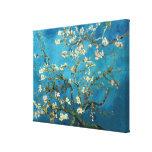 Vincent van Gogh, árbol de almendra floreciente Lona Envuelta Para Galerias