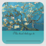 Vincent van Gogh, árbol de almendra floreciente Colcomanias Cuadradass