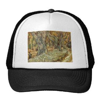 Vincent van Gogh - árboles del paisaje Gorra