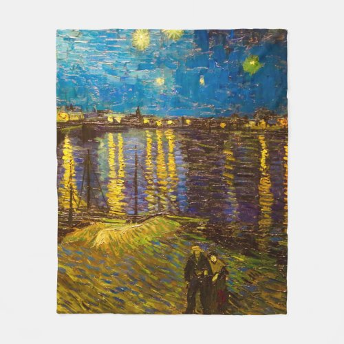 Vincent van Gogh Art Fleece Blanket